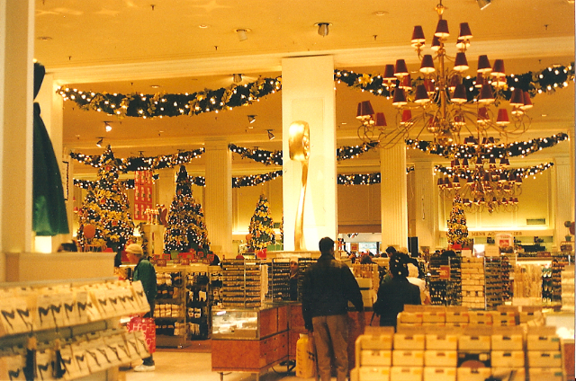 Christmas Stores In New York