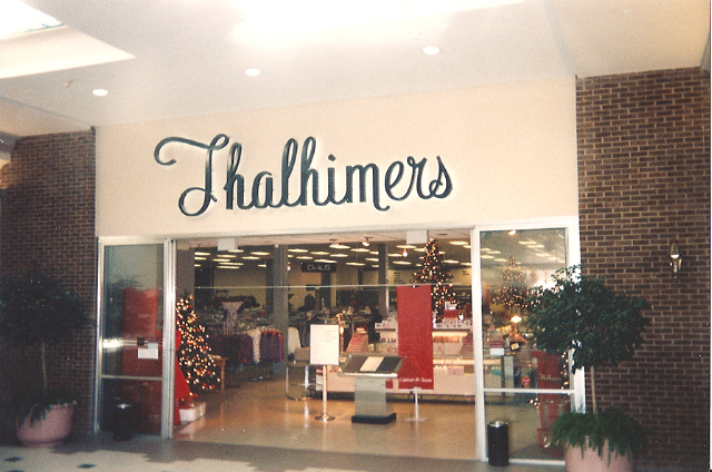 Thalhimer's, Eastgate Mall, Richmond, VA, 1991