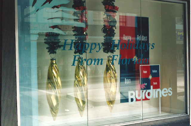 Burdine's, downtown Miami, 1994