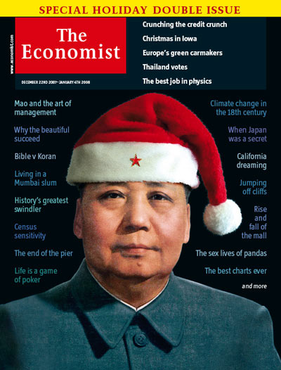Economist December 2007 Cover