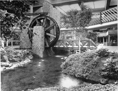 Old Mill Mall, Mountain View, California, 1977