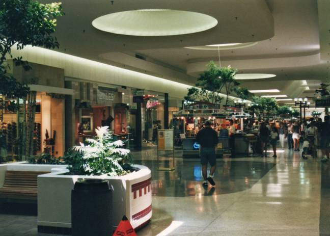 Fashion Place Mall in Murray, Utah, 1997
