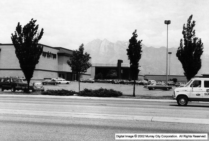 Undated photo of Fashion Place Nordstrom, from JW Marriott Library at University of Utah