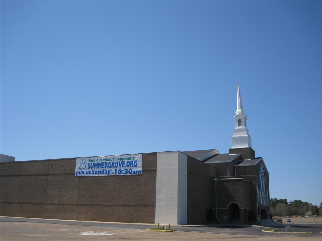 South Park Mall / Summer Grove Church former JCPenney in Shreveport, LA