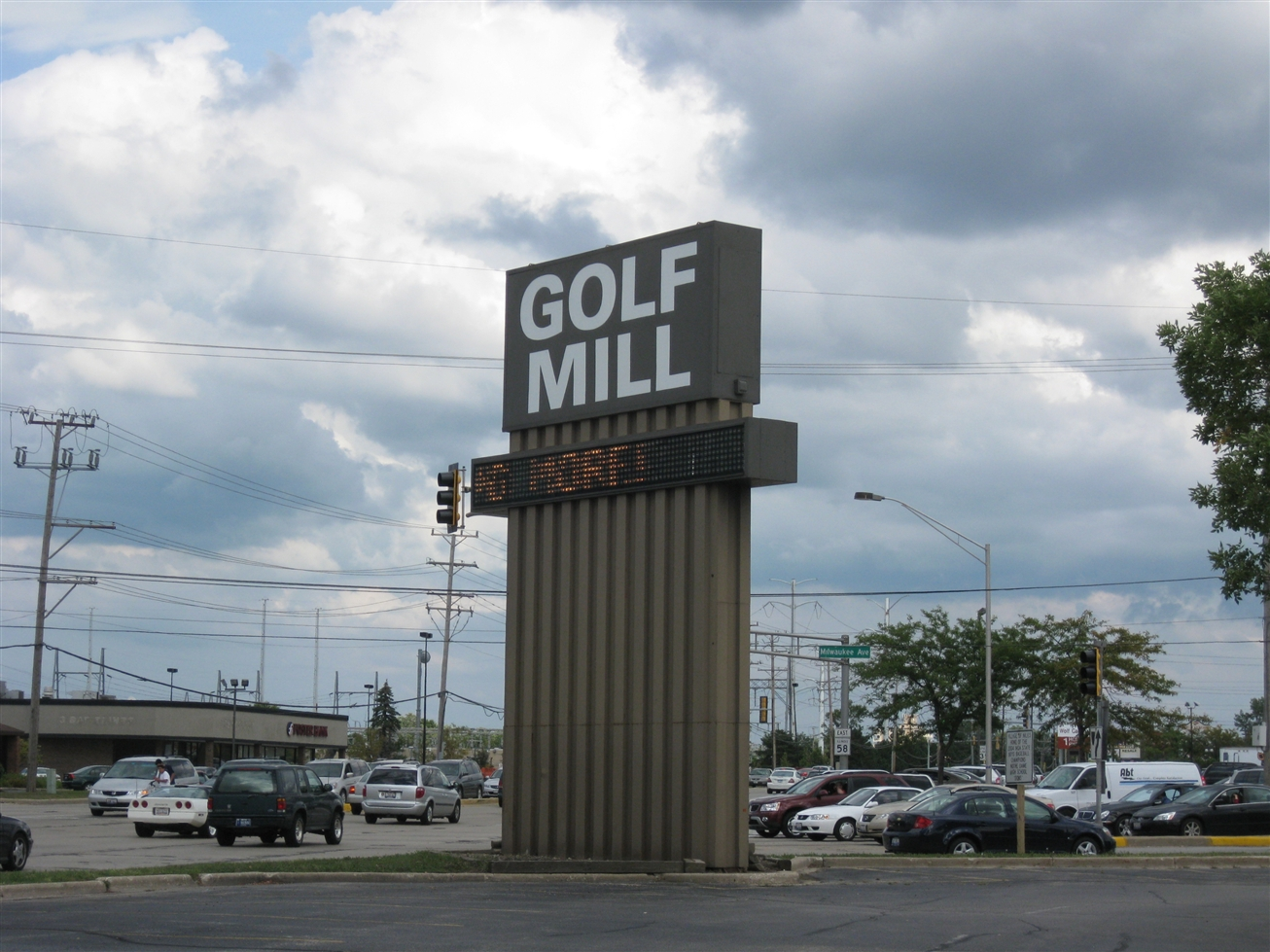 Golf Mill Shopping Center in Niles, IL