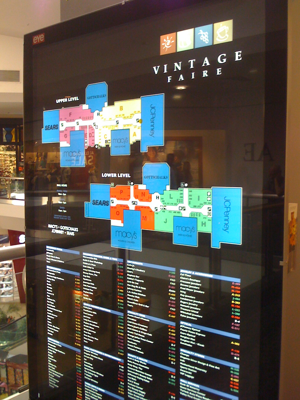 Stores In Vintage Faire Mall 68