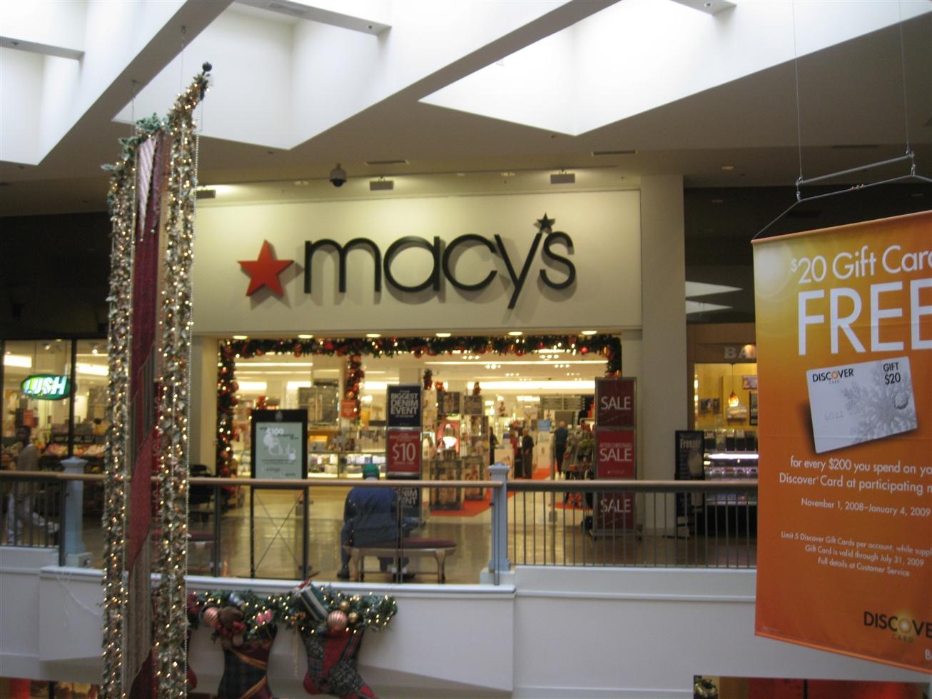 Perimeter Mall Macys in Dunwoody, GA