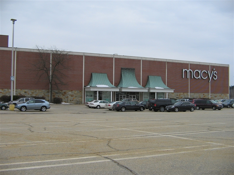 Macy's adjacent to Bedford Mall in Bedford, New Hampshire