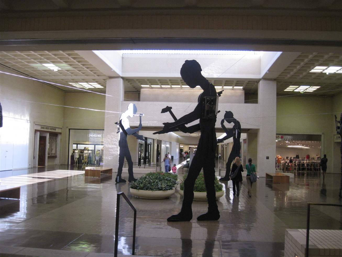 Northpark Center art in Dallas, TX
