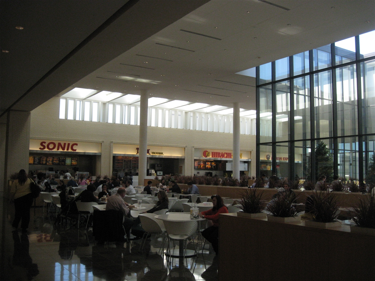 Northpark Center food court in Dallas, TX