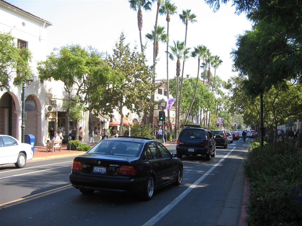 Paseo Nuevo Shopping Center in Santa Barbara, California