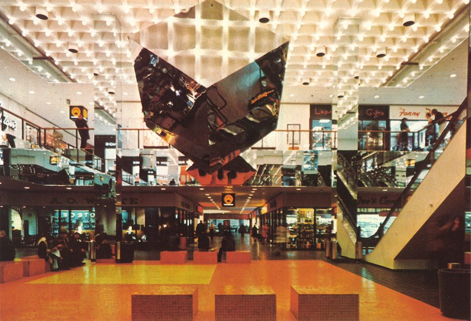 Baystate West Mall photo from Architectural Record, mid-70s