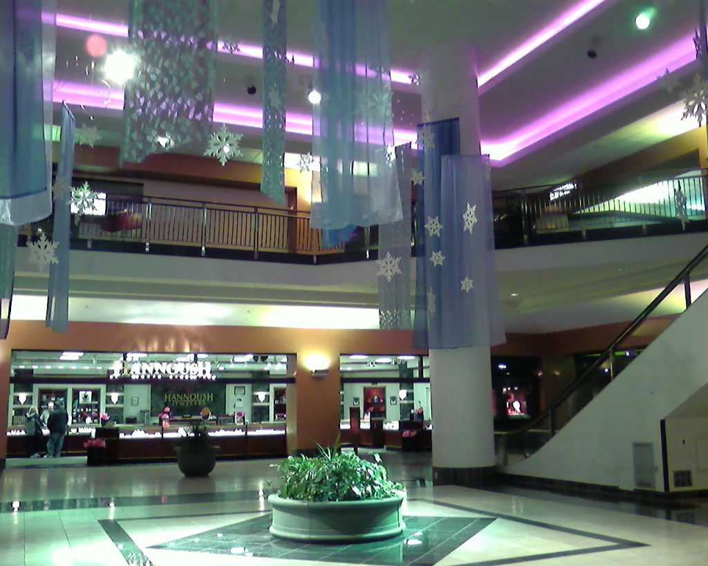 Tower Square center court, 2007