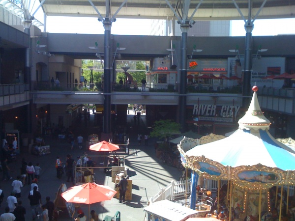 Macy's/Food Court area at Downtown Plaza's West End