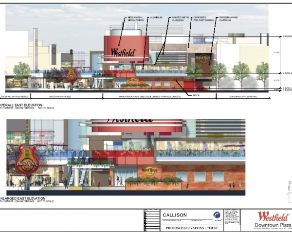 Original 2006 redevelopment proposal for Westfield Downtown Plaza