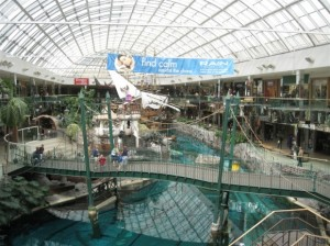 West Edmonton Mall 111 Labelscar