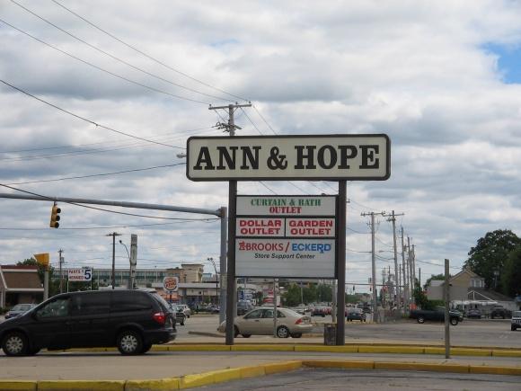 Ann & Hope, Warwick, Rhode Island
